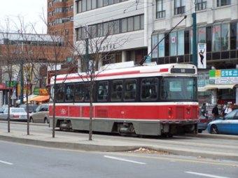 Queen Street West Streetcar