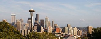 Kerry Park panorama by Forrest Croce