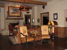 Inside the Wildcatter Steakhouse