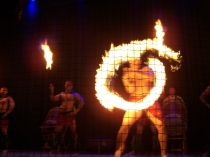 Firedancer at the Luau