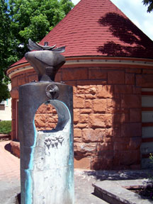 "Cheyenne Springs — a place to sample this springs' ""soda"" water."