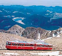 Courtesy of Pikes Peak Cog Railway Web site.