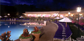 One of the pool areas at the Broadmoor.