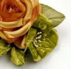 Handmade golden rose