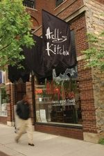 My favorite restaurant — Hell's Kitchen, a block from Nicollet Mall.