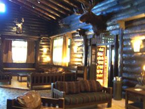 Lobby at El Tovar