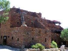 Hopi House near El Tovar.
